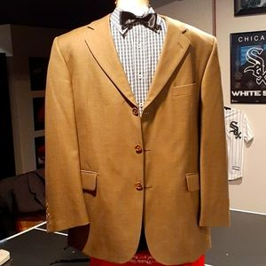 Men Sport Coat/Blazer 42S Stafford